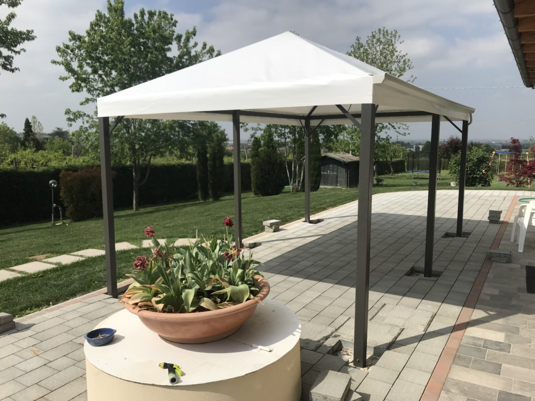 Gazebo in Alluminio